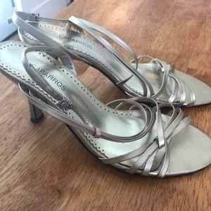 Caparros gold heels